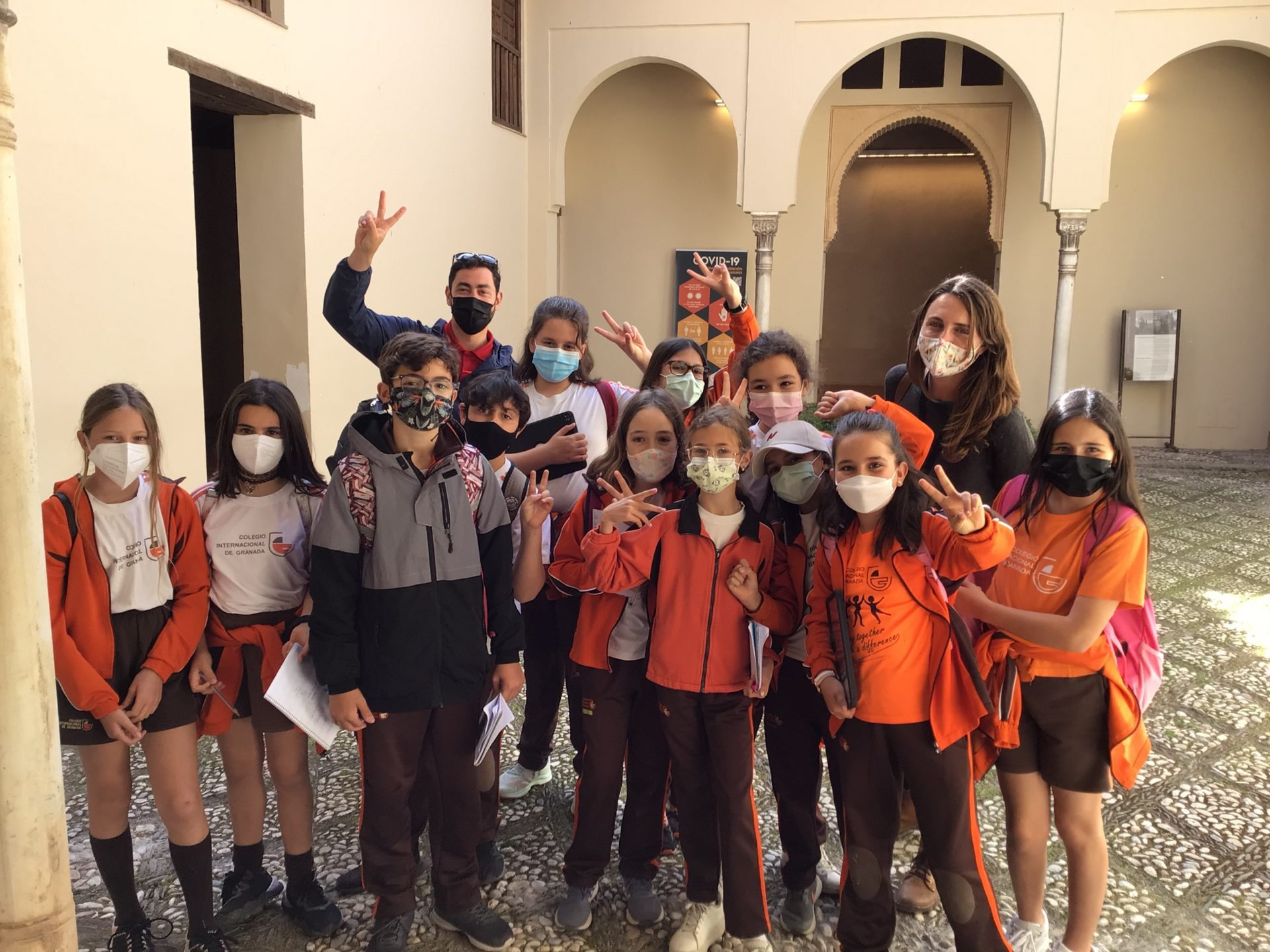 Alhambra visit with Year 5