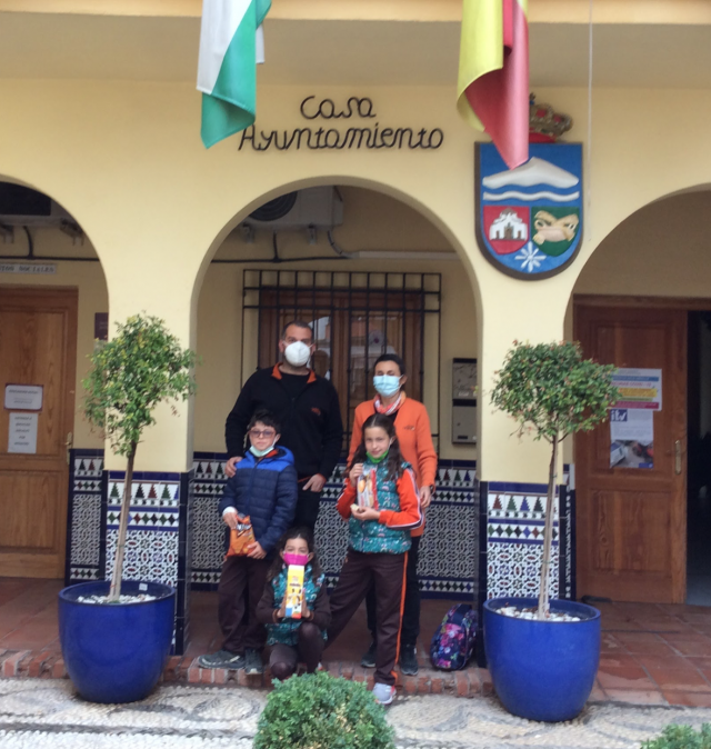 Alumnos de primaria del CIG acuden al Ayuntamiento de Dílar
